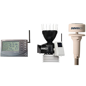 Davis Vantage Pro 2 6152 Sonic Ultraschall Windmesser