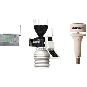 Davis Vantage Pro2 6153 Sonic Ultraschall Windmesser