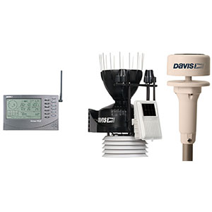 Davis Vantage Pro 2 6162 Sonic Ultraschall Windmesser
