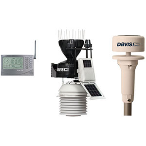 Davis Vantage Pro 2 6163 Sonic Ultraschall Windmesser